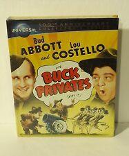 Buck Privates blu-ray DigiBook (Blu-ray/DVD, DigiBook) Abbott and Costello NEW