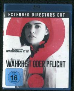 Blu-ray - Wahrheit oder Pflicht - Extended Director's Cut