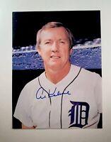 AL KALINE signed 8x10 photo 1968 World Series  DETROIT TIGERS Auto autographed