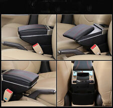 New Armrest Centre Console Storage Box Black Fit for Ford Focus 2009-11