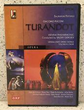 PUCCINI Turandot (DVD, 2003) Salzburg GERGIEV Robert Tear, Paata Burchuladze