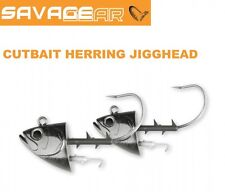 Savage Gear Cutbait Herring Jighead 295g 10/0 - 2 Stück Jighaken für Gummifische