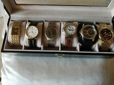 JUNGHANS.ANKER.SKAGEN.SWATCH.DUAL TIME.ASTRON.COLLECTION OF 6 WATCHES.