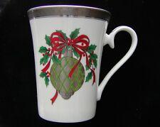 Vintage MIKASA ~ Christmas ~ HOLLY ORNAMENT ~ Cup ~ Mug ~ Discontinued & Awesome