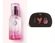 Victoria's Secret BOMBSHELL Fragrance Body Mist and VS Patch Beauty Bag