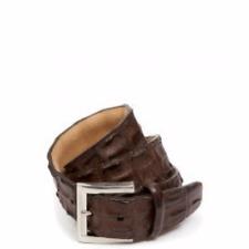Unisex Hornback Crocodile Belt