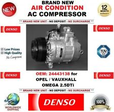 DENSO AIR CONDITION AC COMPRESSOR OEM: 24443138 for OPEL VAUXHALL OMEGA 2.5DTi
