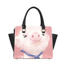Pink Pig Women's Handbag Fashion Bag Shoulder Bag