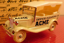 LLEDO DAYS-GONE: ACME CLEANING:  FORD CAR:  MINT BOXED DIECAST MODEL 1985