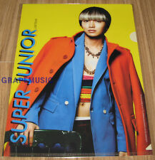 SUPER JUNIOR MR.SIMPLE LEETEUK SM OFFICIAL CLEAR FILE FOLDER NEW