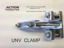 UNV 90 degree mounting clamp antenna bracket for Beam/Yagi UHF/CB/2Way pole/tube
