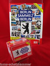 Panini Berlin sammelt Berlin 1 Box 50 Tüten + Leeralbum = 250 Sticker + Album