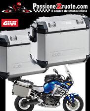 Valigie Laterali Givi Outback 37 + tealai PL2101CAM Yamaha Xt1200z Super Tenere