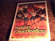 SATANS CHEERLEADERS MOVIE POSTER '77 EXPLOITATION