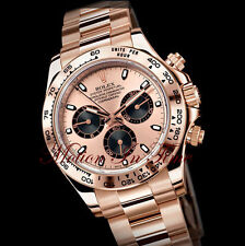 Rolex Cosmograph Daytona Everose Gold on Bracelet Rose Gold w/ Rose Dial 116505