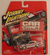 Johnny Lightning Car Craft Magazine: 1970 Plymouth Hemi Cuda WHITE #3