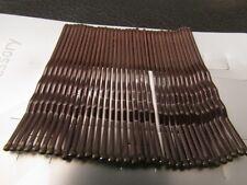 Confezione di 36 Marrone KIRBY Grip metal clip capelli per 4,5 cm diapositive Bob Pin Grip Clip