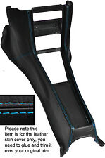 Punto azul Centro Consola Cuero Skin Tapa se ajusta Mercedes W114 W115 Serie 2