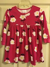 Hanna Andersson Floral Dress Girls Size 100 4