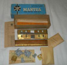 Mantua Old Time Brass Baggage Car Kit Less Trucks