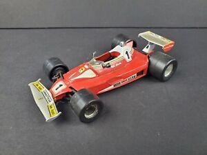 Polistil Ferrari 312 T2 #1 Model Red Vintage 1976 Diecast 1:25 Race Car Italy