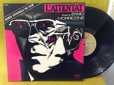 LP BO OST - L'ATTENTAT  -  ENNIO MORRICONE - YVES BOISSET - FESTIVAL FLD 592