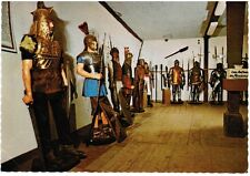 1970s Germany Postcard - Armour collection, Marksburg Castle, Braubach am Rhein