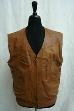 Unbranded Leather Outer Shell Big & Tall Coats & Jackets for Men