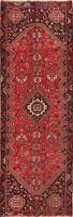 Antique Pre-1900 Abadeh Tribal Handmade Geometric 10 ft Oriental Runner Rug 3x10