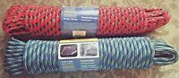 """Diamond Braid Multi-Purpose Rope 3/8"""" x 100' 9.5 mm x 30.5 m capacity 244 lbs"""