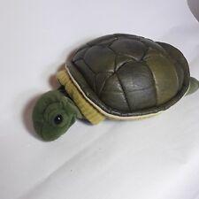 "Folkmanis Turtleneck Turtle Plush Hand Puppet 12"" Full Body Green"