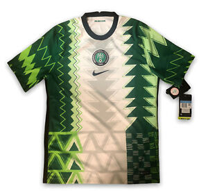Nike 2020 2021 NIGERIA NAIJA Home Soccer Jersey Football Shirt Sz M CT4225-100
