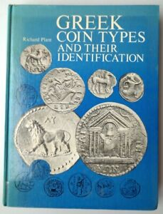 Greek Coin Types and Their Identification by Richard Plant 1979 Hardcover