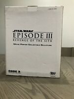 Star Wars Best Buy Movie Poster Sculpture Episode III REVENGE OF THE SITH Code 3