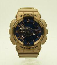 Casio G-SHOCK Analog Digital Watch GMA-S110GD Blue / Brown 40mm - FREE SHIPPING