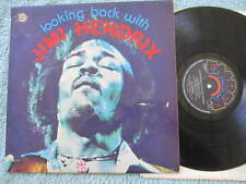 """JIMI HENDRIX LOOKING BACK WITH LP RECORD 12"""" UK"""