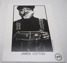 James Cotton Promotional Photograph Chicago Blues Legend 8x10
