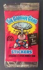 1988 Australia Garbage Pail Kids Series 1 Empty Pack~The Garbage Gang~VGC~Rare