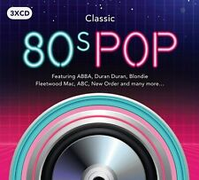 Classic 80's Pop - Various Artists - 3 CD Digipak - New Sealed Condition