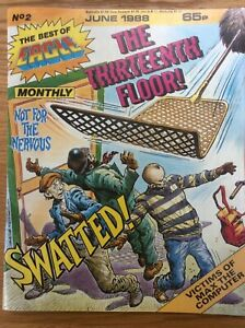 The Best Of Eagle Monthly, June 1988 The Thirteenth Floor (Scream Comic)