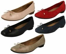 Clarks Suede Casual Flats Ballerinas for Women