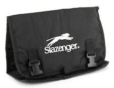 Slazenger Mens Womens Black Travel Sports Toiletry Wash Bag
