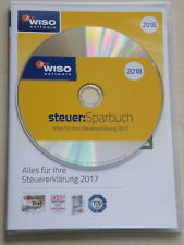 WISO Steuer Sparbuch 2018 für die Steuererklärung 2017 mit kostenlosen Versand