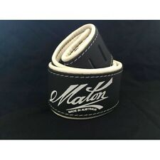 MATON DELUXE LEATHER GUITAR STRAP