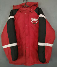 VINTAGE OLD 80s 90s JUMP BALL CHICAGO BULLS BASKETBALL NBA JACKET WINTER SIZE S