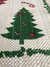 Table Runner Sofa Runner Christmas Tree Santa Candy Cane Season's Greetings