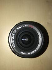 Canon FD 24mm F2.8 Lens