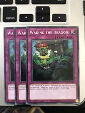 Yugioh 3x 1st Edition Waking The Dragon FLOD-EN080