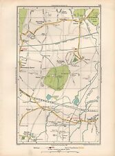 1936 LARGE SCALE MAP -  LONDON IVER THORNEY COLNBROOK LONGFORD RICHINGS PARK HOR