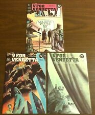 DC COMICS 1988/89 V FOR VENDETTA # 5 8 9 3 BOOK LOT